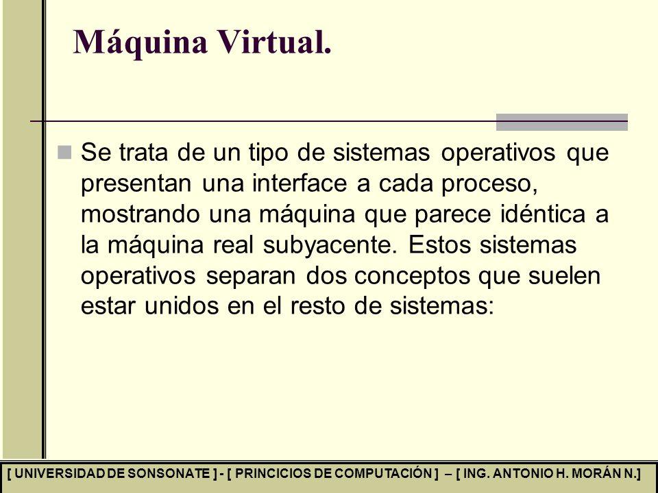 Máquina Virtual.