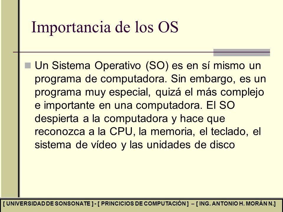 Importancia de los OS