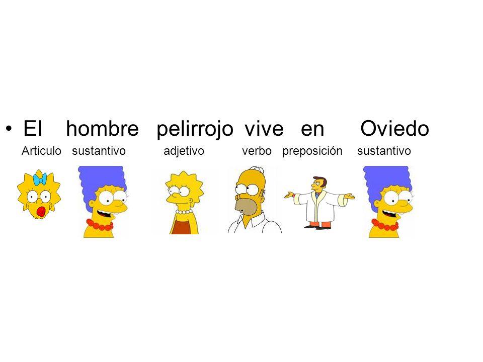 El hombre pelirrojo vive en Oviedo