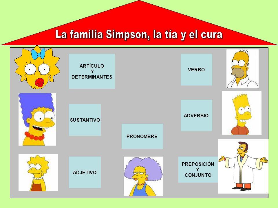 La familia Simpson, la tía y el cura