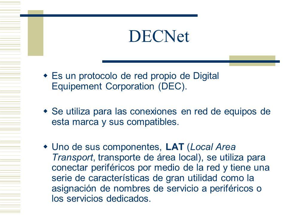 DECNetEs un protocolo de red propio de Digital Equipement Corporation (DEC).