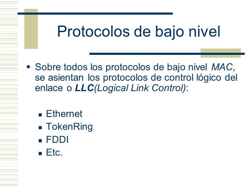 Protocolos de bajo nivel