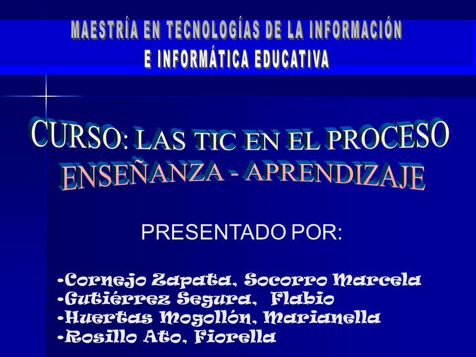 MAESTRÍA EN TECNOLOGÍAS DE LA INFORMACIÓN E INFORMÁTICA EDUCATIVA