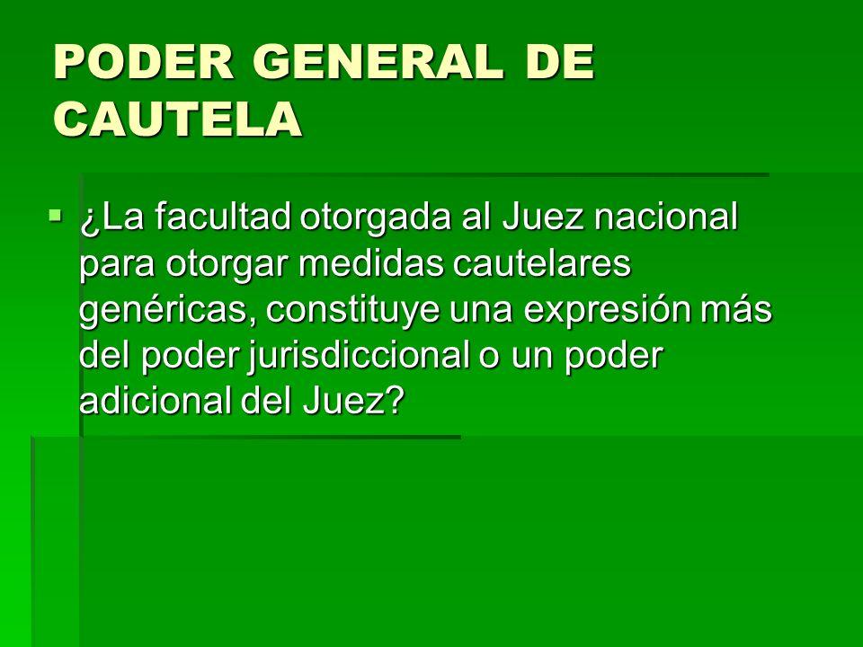 PODER GENERAL DE CAUTELA