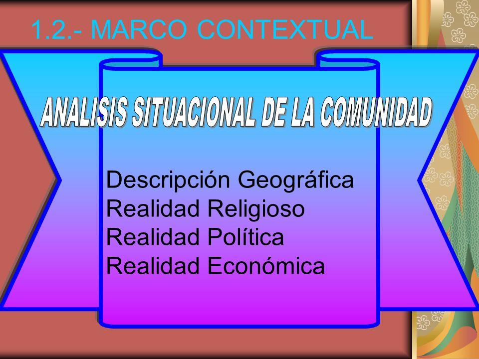 ANALISIS SITUACIONAL DE LA COMUNIDAD