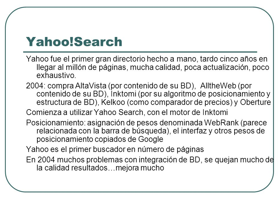 Yahoo!Search