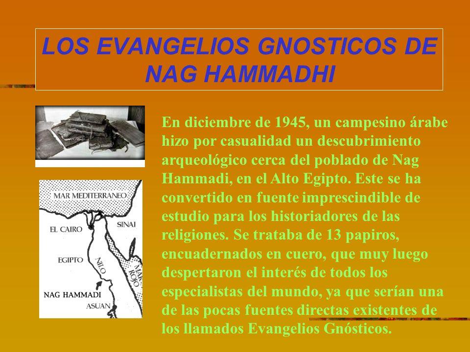 LOS EVANGELIOS GNOSTICOS DE NAG HAMMADHI