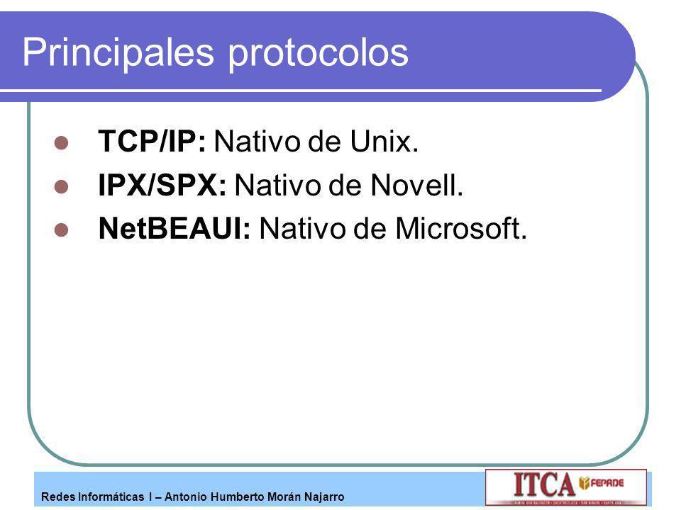 Principales protocolos