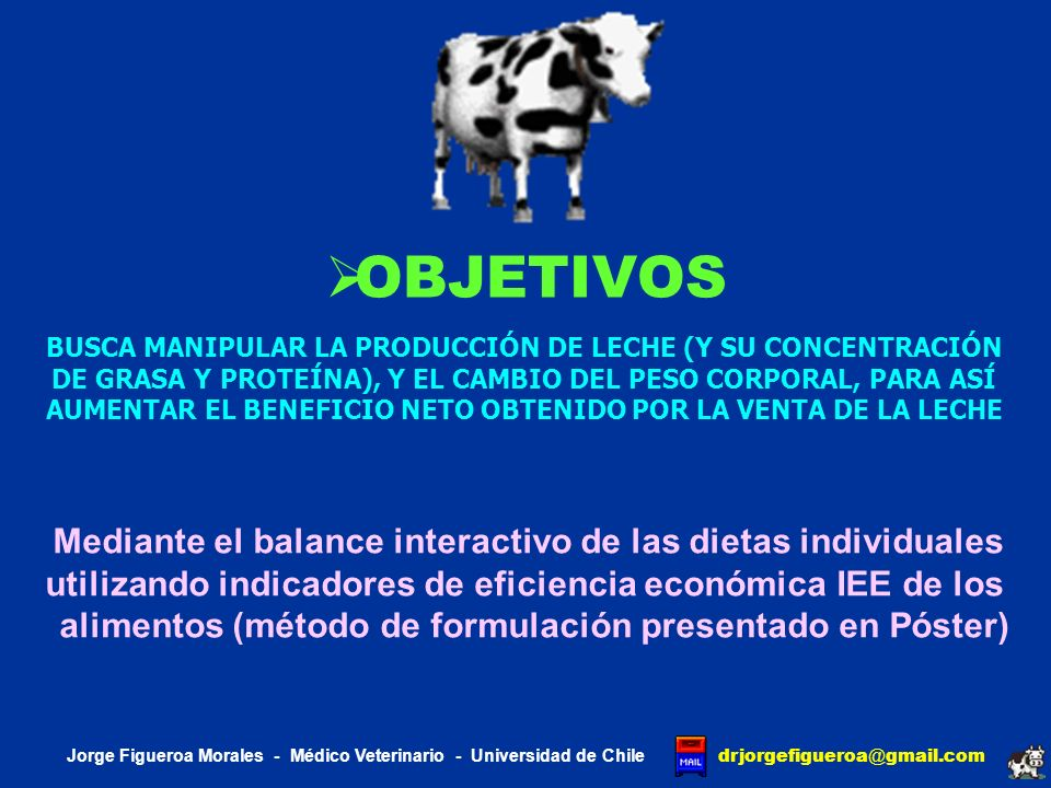 OBJETIVOS utilizando indicadores de eficiencia económica IEE de los