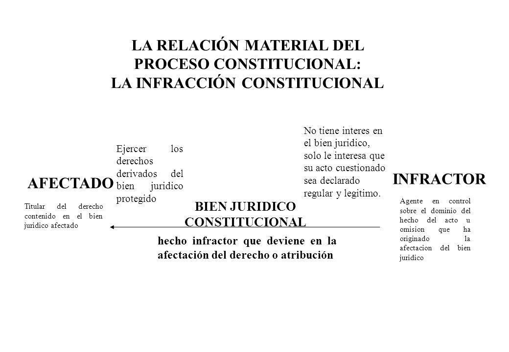 LA RELACIÓN MATERIAL DEL PROCESO CONSTITUCIONAL: