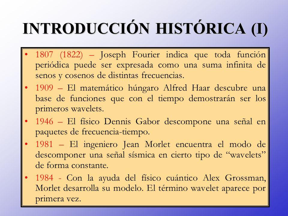 INTRODUCCIÓN HISTÓRICA (I)
