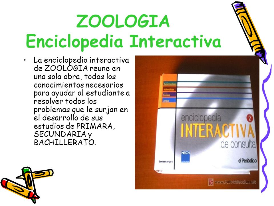 ZOOLOGIA Enciclopedia Interactiva