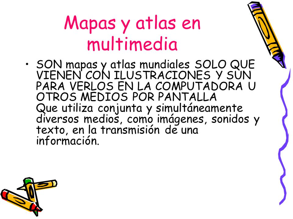 Mapas y atlas en multimedia