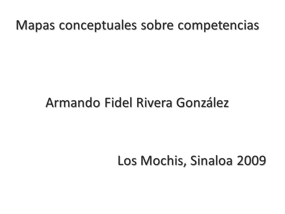 Mapas conceptuales sobre competencias