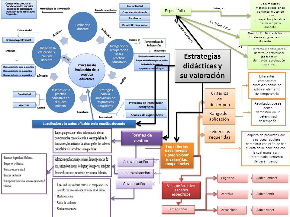 Estrategias didácticas y su valoración
