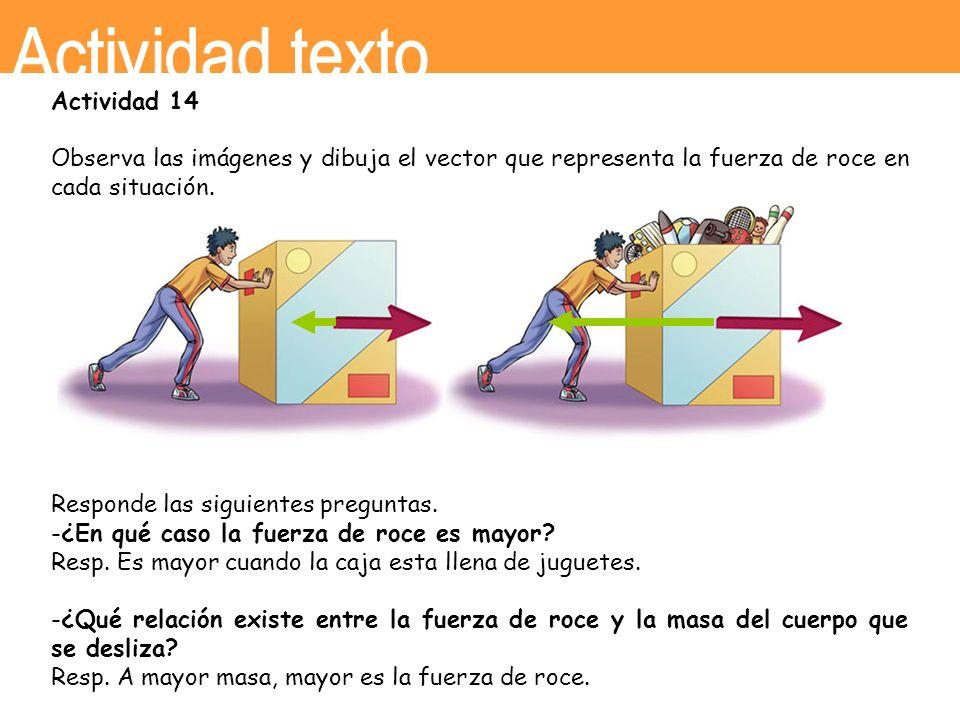 Actividad texto Actividad 14