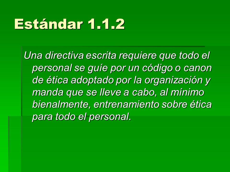 Estándar 1.1.2
