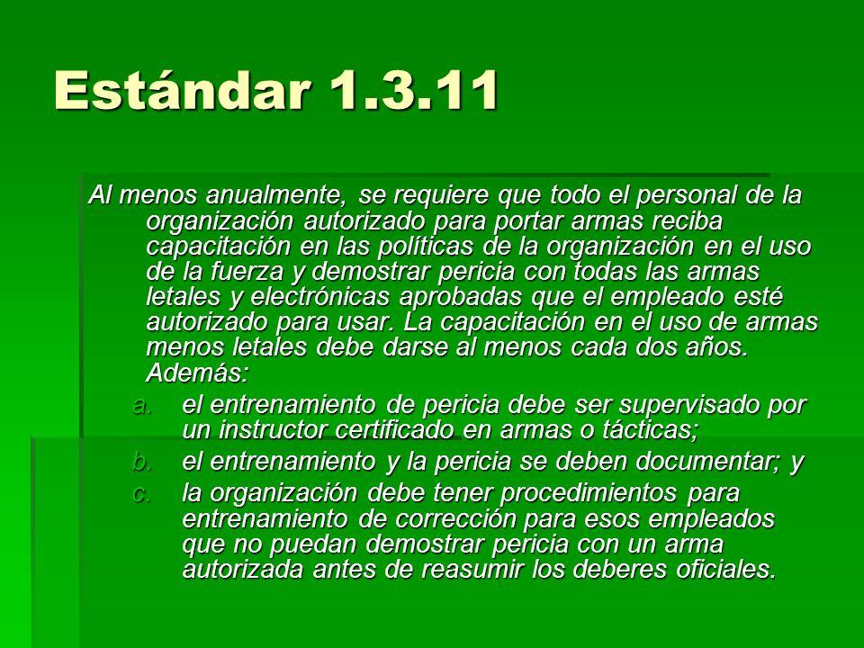 Estándar 1.3.11