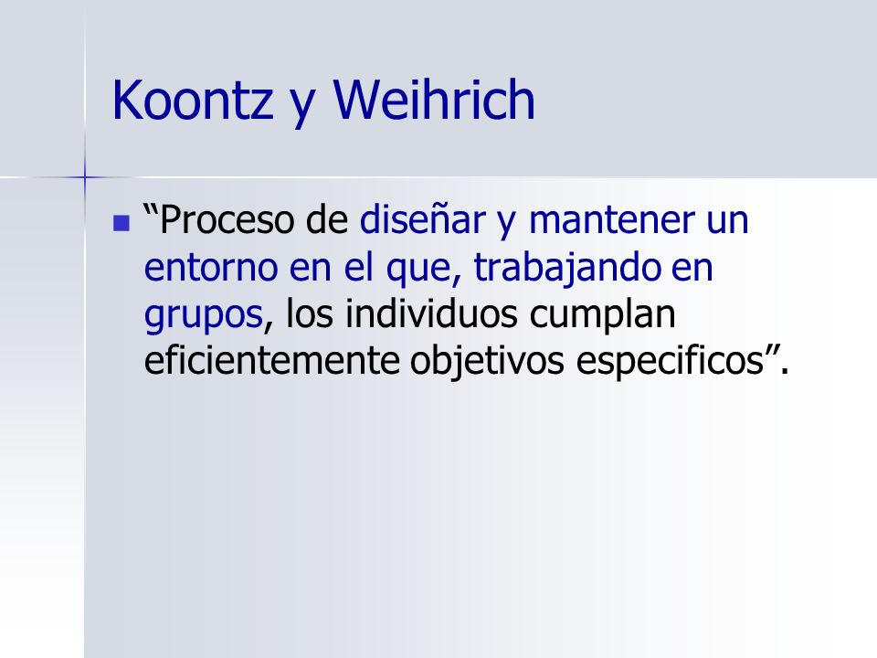 koontz and weihrich Heinz weihrich is a professor of global management and behavioral sciences he is the author of internationally acclaimed management textbook management: a global.
