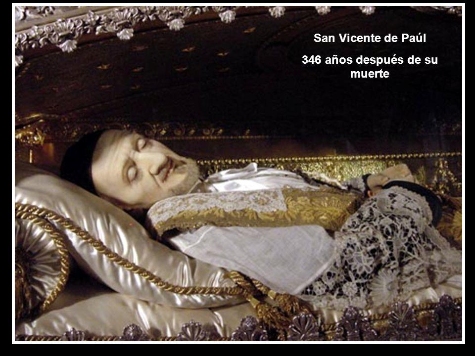346 años después de su muerte