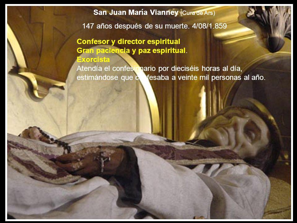 San Juan María Vianney (Cura de Ars)