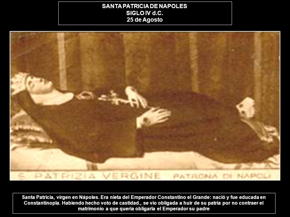 SANTA PATRICIA DE NAPOLES