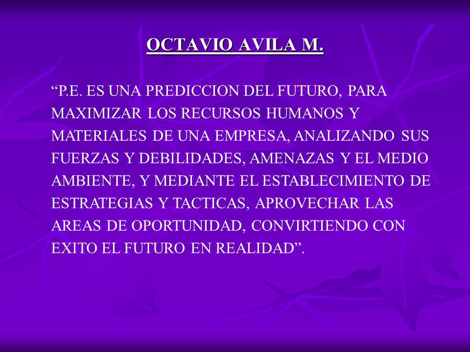 OCTAVIO AVILA M.