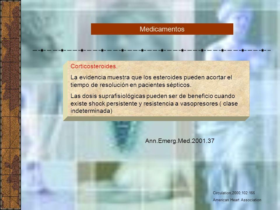 Medicamentos Corticosteroides.