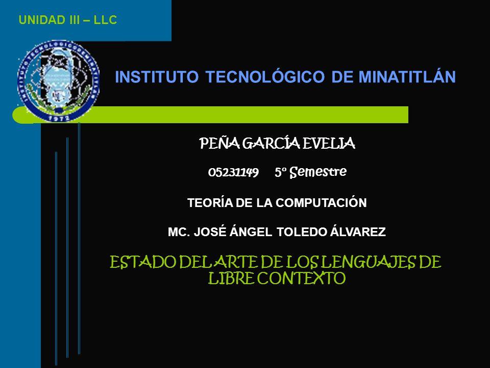 INSTITUTO TECNOLÓGICO DE MINATITLÁN