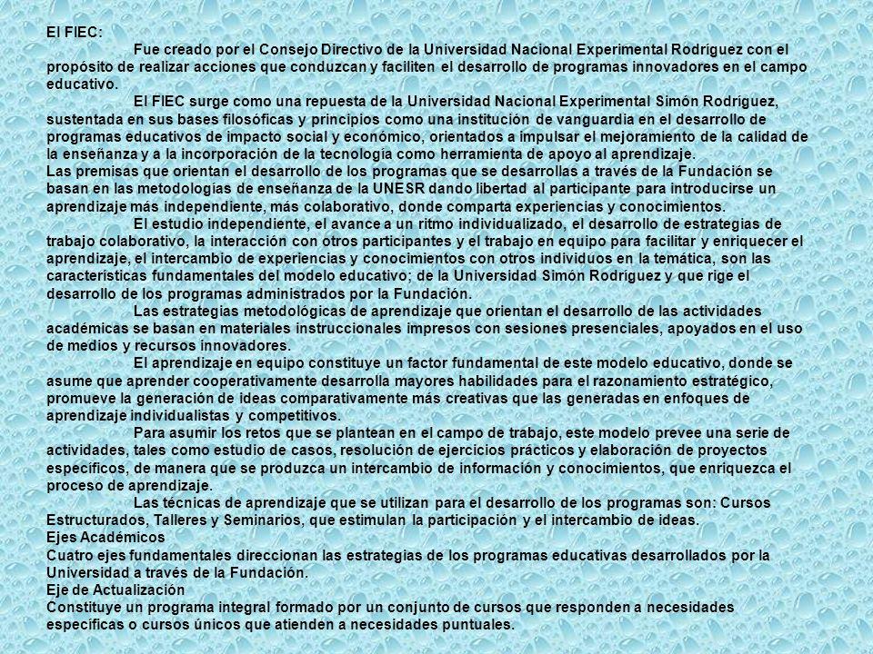 El FIEC: