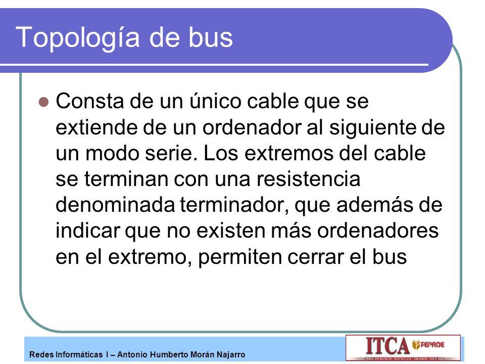 Topología de bus