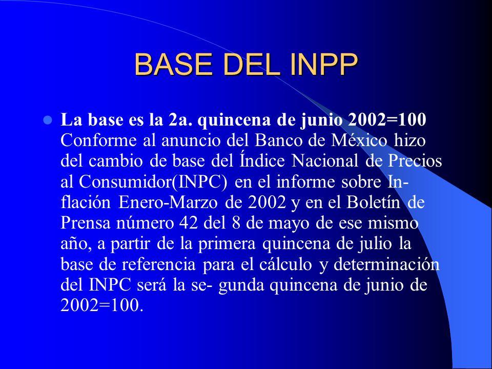 BASE DEL INPP