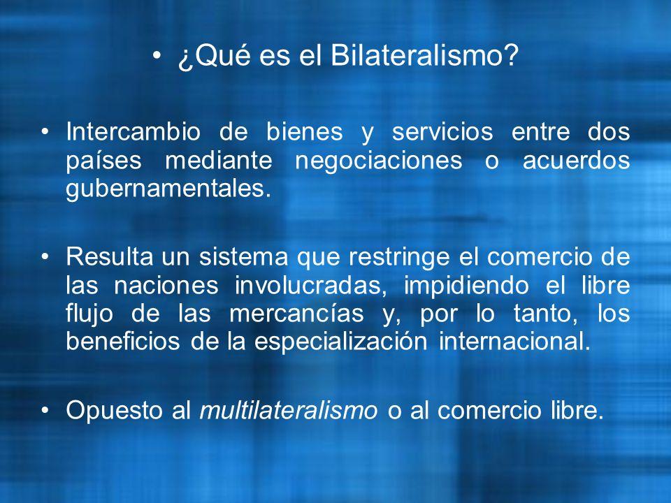 ¿Qué es el Bilateralismo