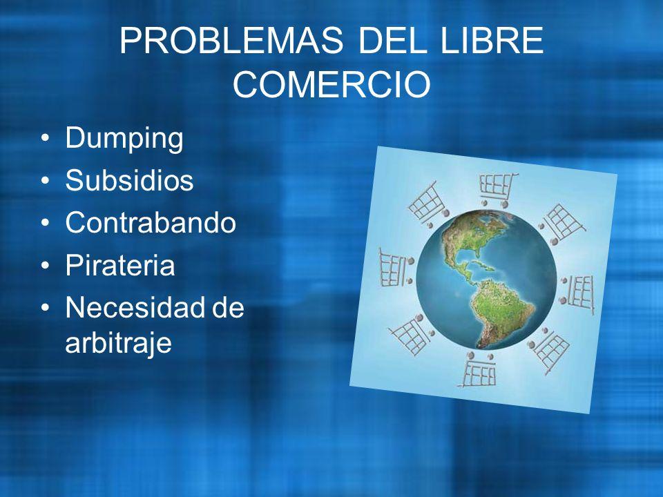 PROBLEMAS DEL LIBRE COMERCIO