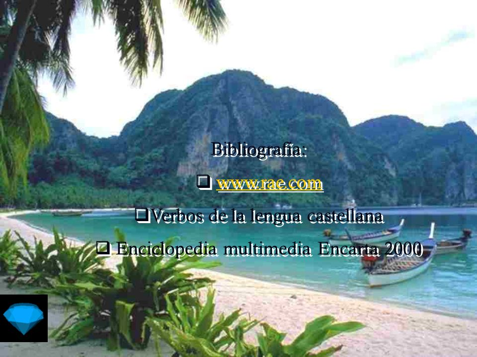 Verbos de la lengua castellana Enciclopedia multimedia Encarta 2000