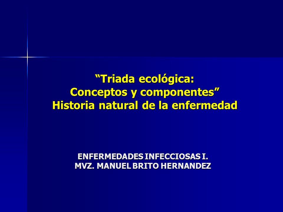 ENFERMEDADES INFECCIOSAS I. MVZ. MANUEL BRITO HERNANDEZ