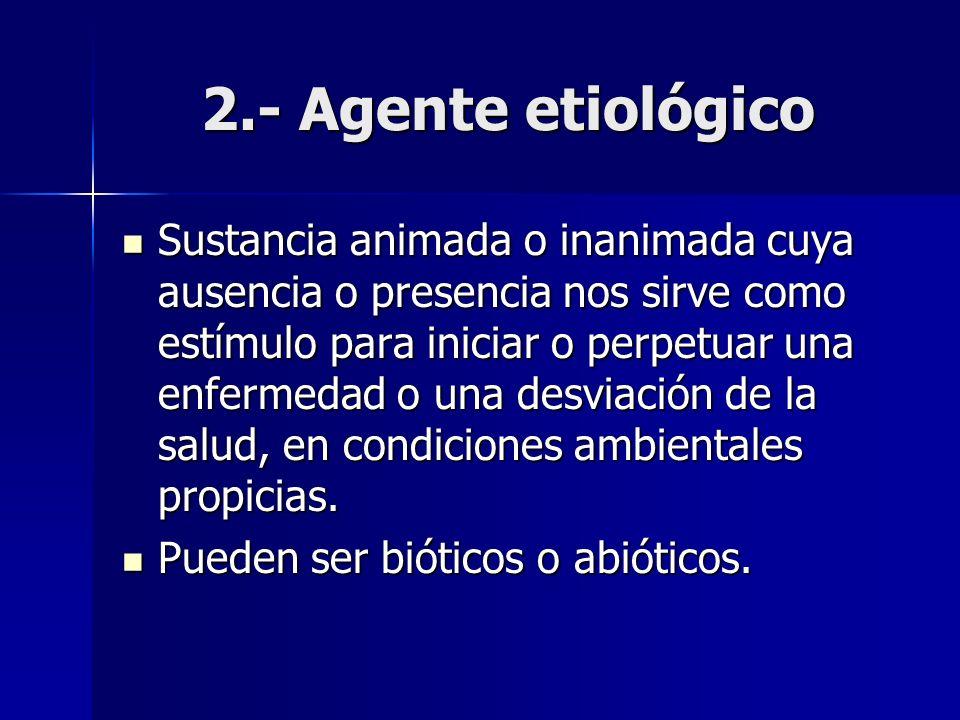 2.- Agente etiológico