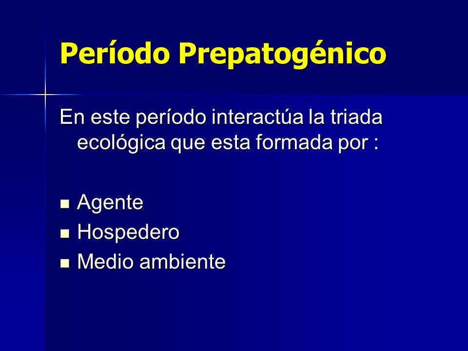 Período Prepatogénico