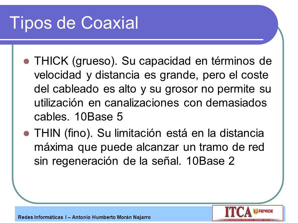 Tipos de Coaxial