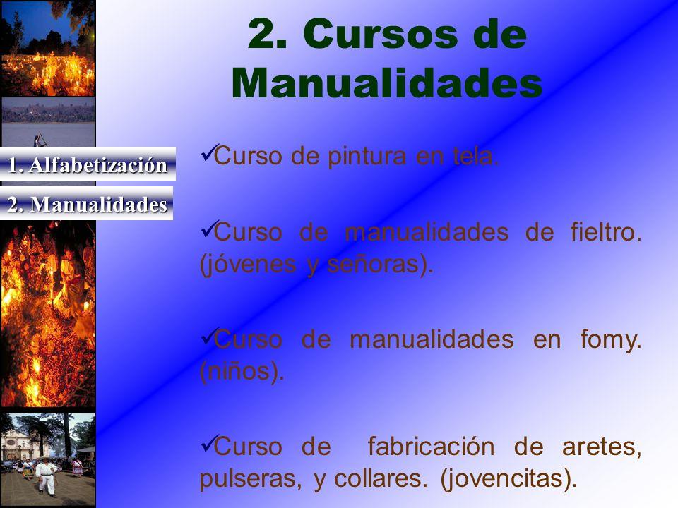 2. Cursos de Manualidades