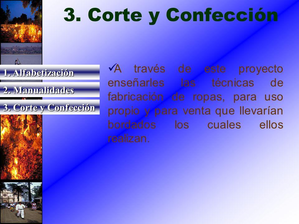 3. Corte y Confección