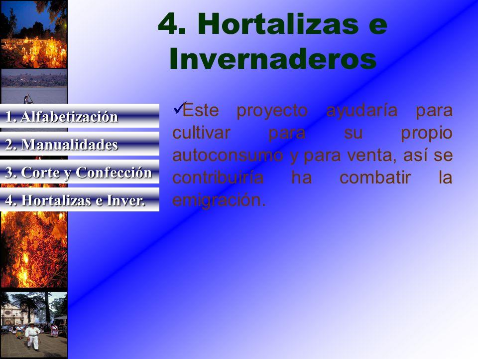 4. Hortalizas e Invernaderos