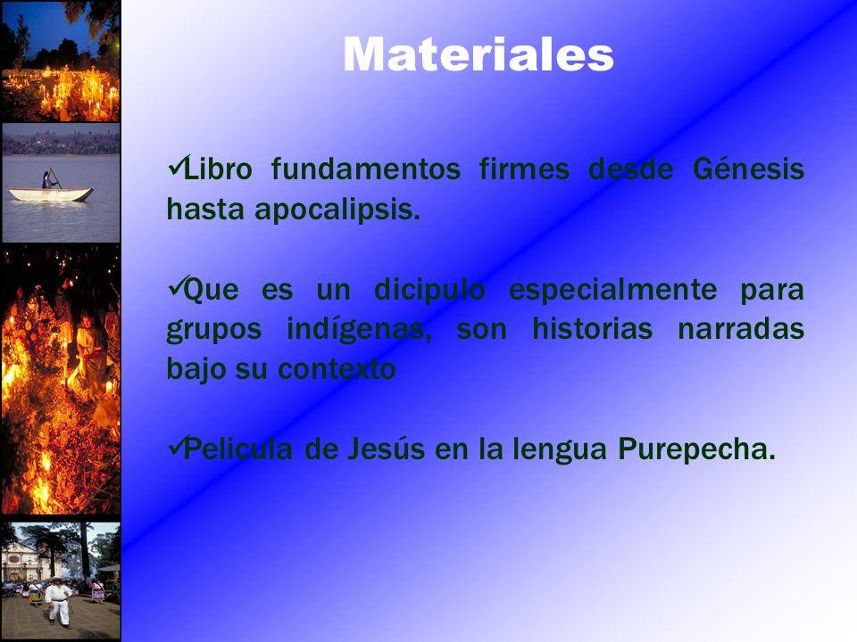 Materiales Libro fundamentos firmes desde Génesis hasta apocalipsis.