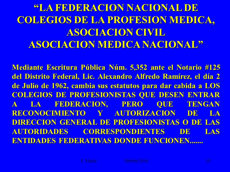 ASOCIACION MEDICA NACIONAL