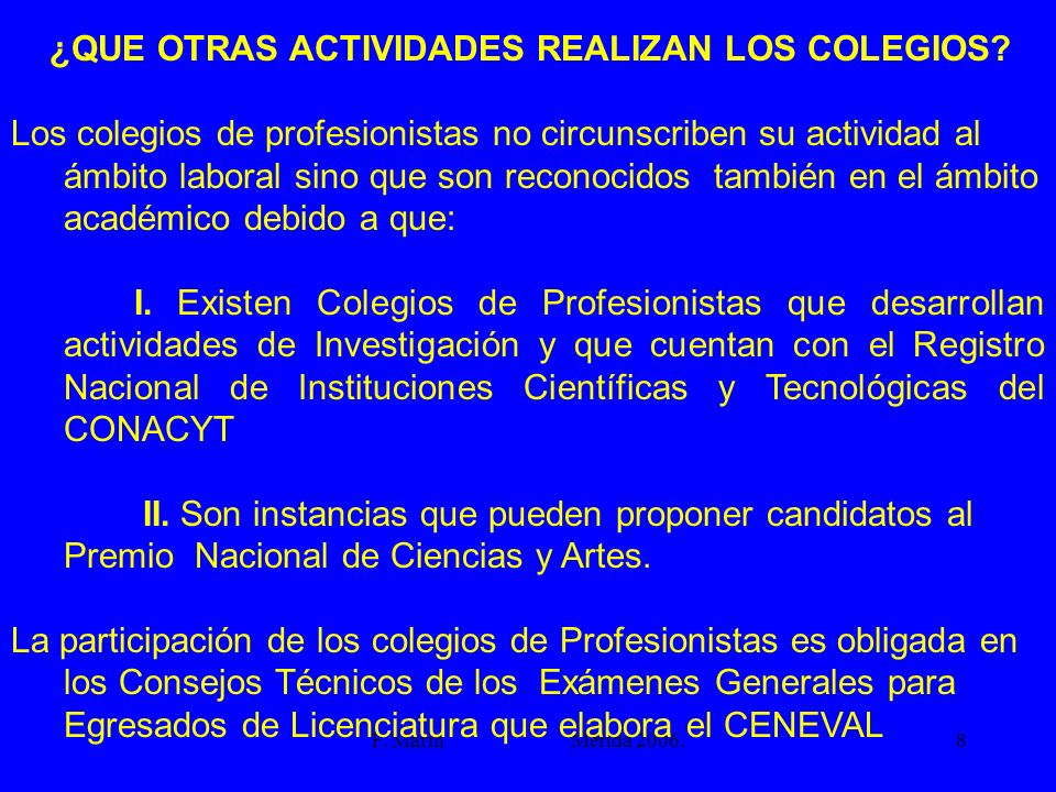 ¿QUE OTRAS ACTIVIDADES REALIZAN LOS COLEGIOS