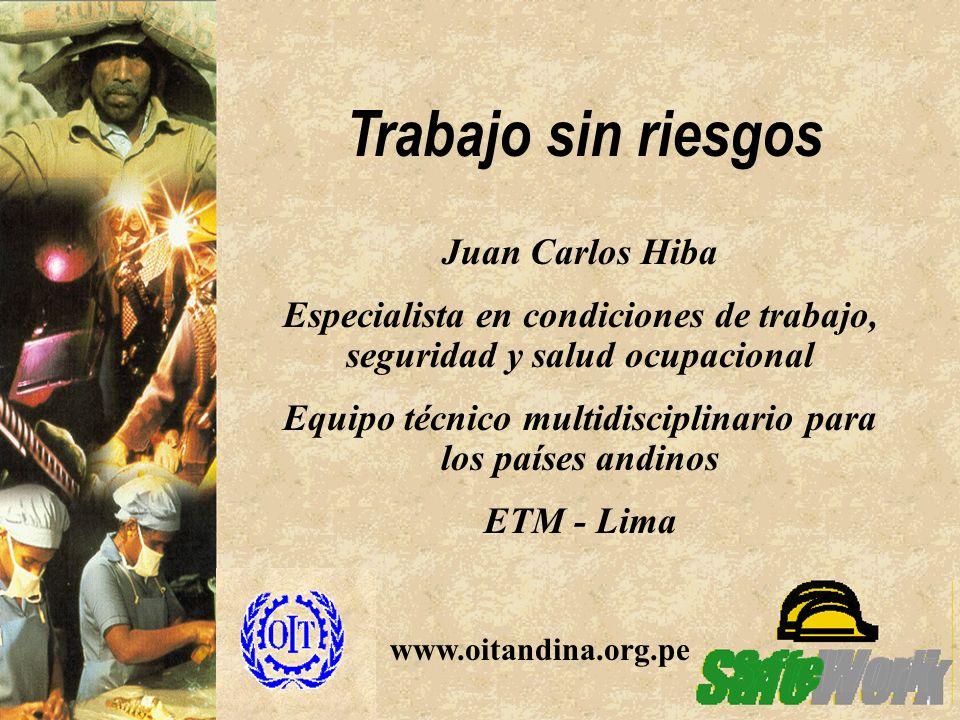 Trabajo sin riesgos Juan Carlos Hiba