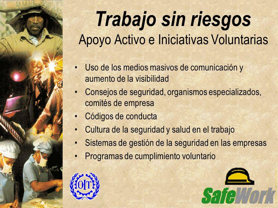 Trabajo sin riesgos Apoyo Activo e Iniciativas Voluntarias