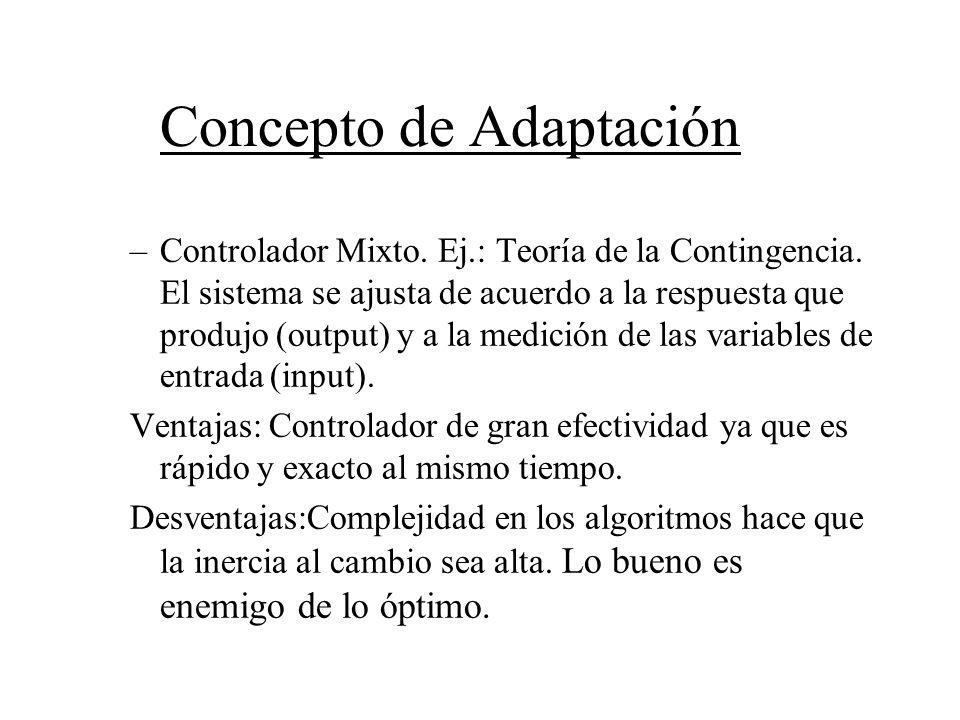 Concepto de Adaptación