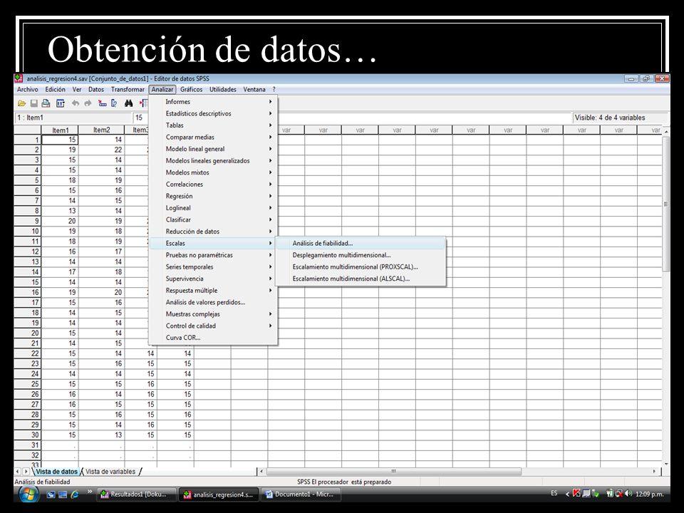 Obtención de datos…