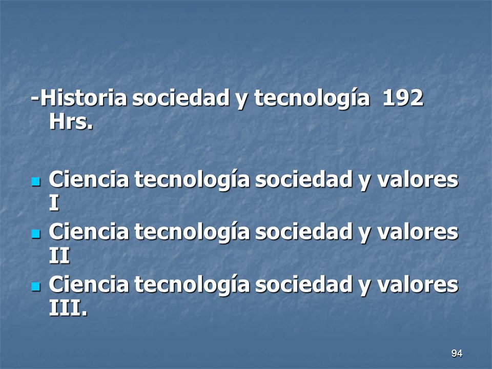 -Historia sociedad y tecnología 192 Hrs.
